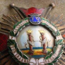 Militaria: ORDEN DE ISABEL LA CATOLICA. ENCOMIENDA DE NUMERO. EPOCA DE FRANCO. JERARCA FRANQUISTA. FALANGE.. Lote 134502946