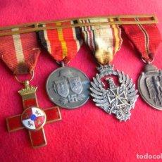 Militaria: BELLO PASADOR DE MEDALLAS DE UN DIVISIONARIO. DIVISION AZUL. RUSIA 1941-1943.. Lote 134750902