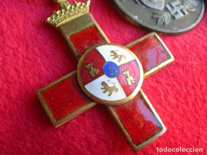 Militaria: BELLO PASADOR DE MEDALLAS DE UN DIVISIONARIO. DIVISION AZUL. RUSIA 1941-1943. - Foto 9 - 134750902