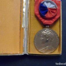 Militaria: MEDALLA REPUBLICA FRANCESA DE HONOR DEL TRABAJO 30 AÑOS. CATEGORÍA DE ORO. AÑO 1938 FRANCIA. Lote 135128062