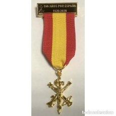 Militaria: EXCELENTE MEDALLA LEGIÓN POR LOS 100 AÑOS (1920-2020). Lote 135302242