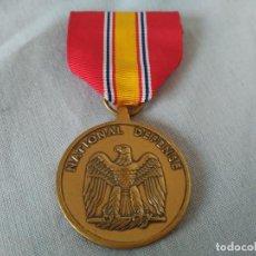 Militaria: EEUU - NATIONAL DEFENSE - MEDALLA. Lote 135374378