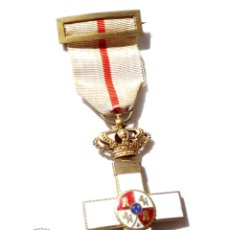 Militaria: MEDALLA MÉRITO MILITAR DISTINTIVO BLANCO ALFONSO XIII. Lote 135671519