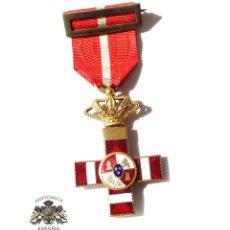 Militaria: MEDALLA MÉRITO MILITAR DISTINTIVO ROJO PENSIONADO ALFONSO XIII. Lote 135671715
