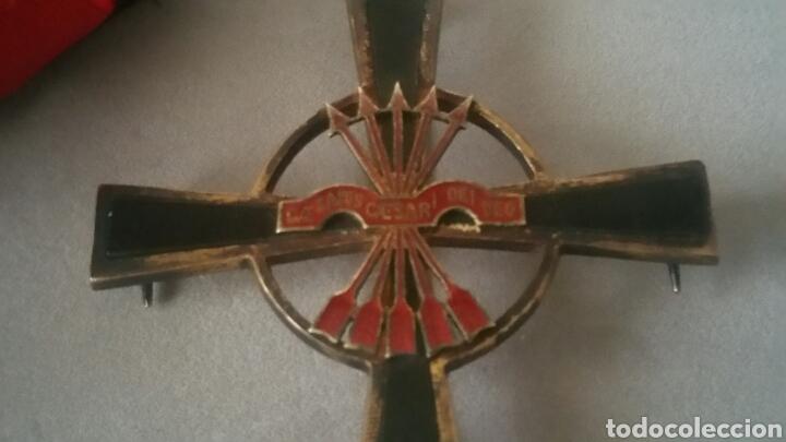 Militaria: Gran cruz y venera de la Orden Imperial del yugo y las flechas realizada en plata y onix otorgada a - Foto 6 - 135821229