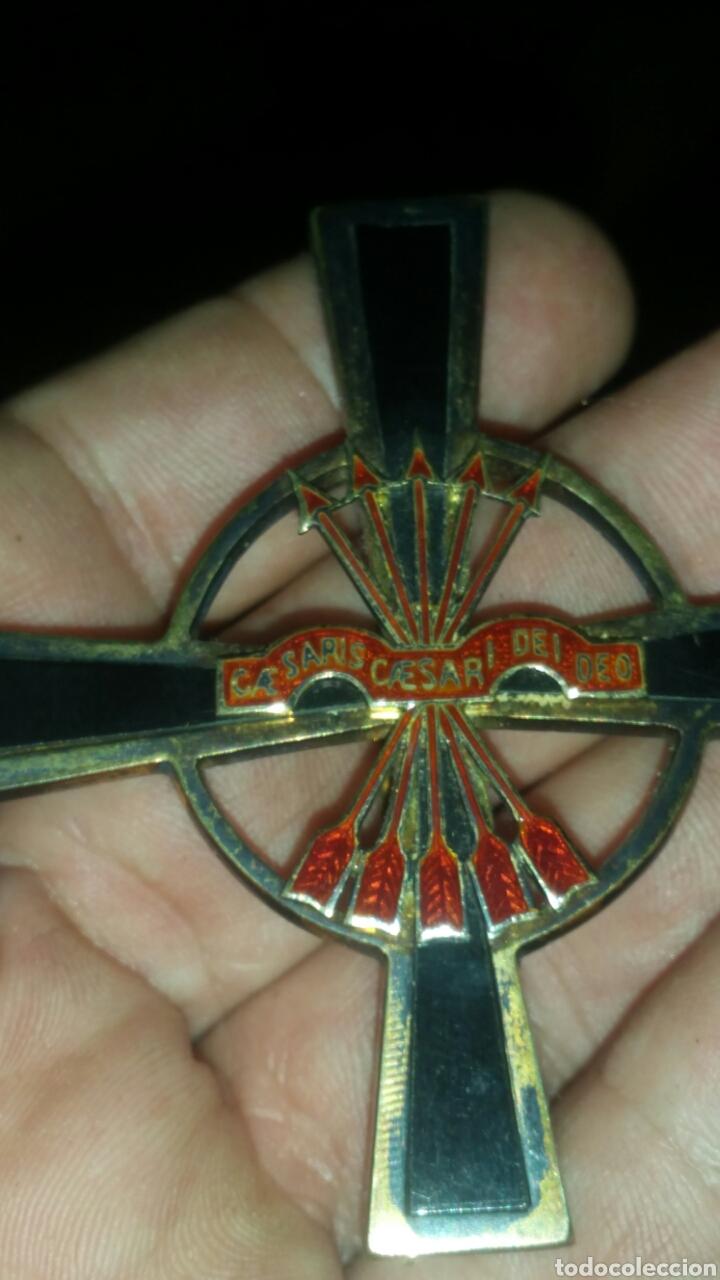Militaria: Gran cruz y venera de la Orden Imperial del yugo y las flechas realizada en plata y onix otorgada a - Foto 10 - 135821229
