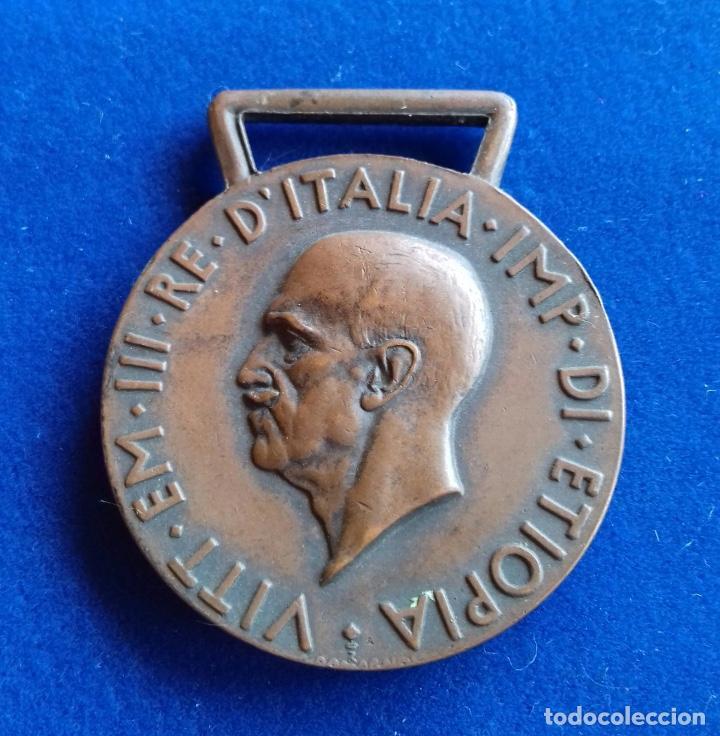 ITALIA - MEDALLA DE OPERACIONES EN AFRICA ORIENTAL 1935 - 1936 (Militar - Medallas Extranjeras Originales)