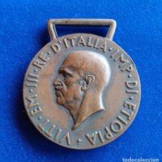 Militaria: ITALIA - MEDALLA DE OPERACIONES EN AFRICA ORIENTAL 1935 - 1936. Lote 135915182