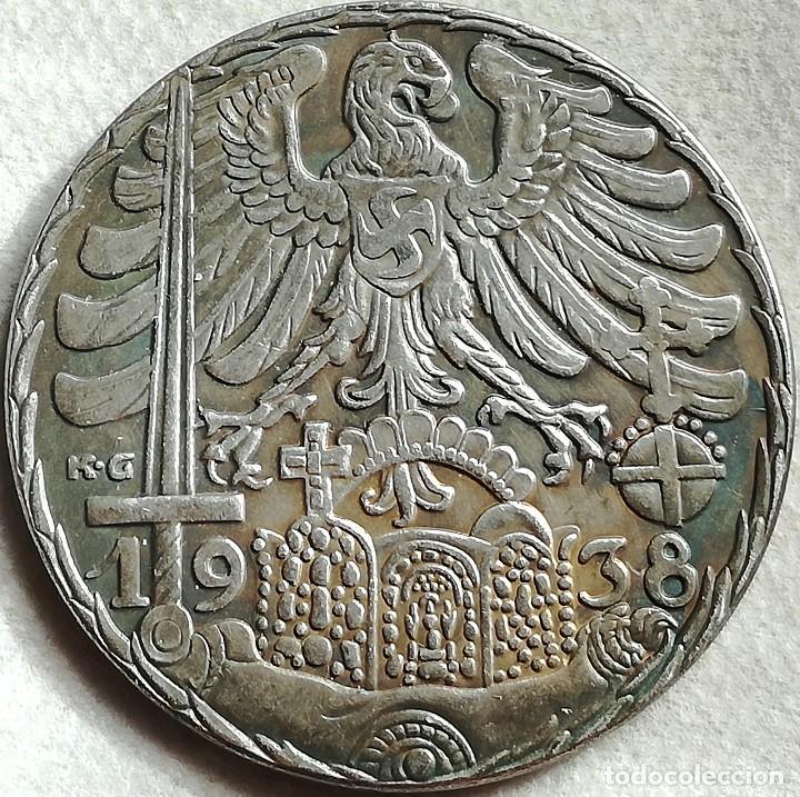 RÉPLICA MEDALLA DES REICHES KRONZIER IN DES REICHES MITTE. VIENA-NUREMBERG. ALEMANIA. PRE II GUERRA (Militar - Reproducciones y Réplicas de Medallas )