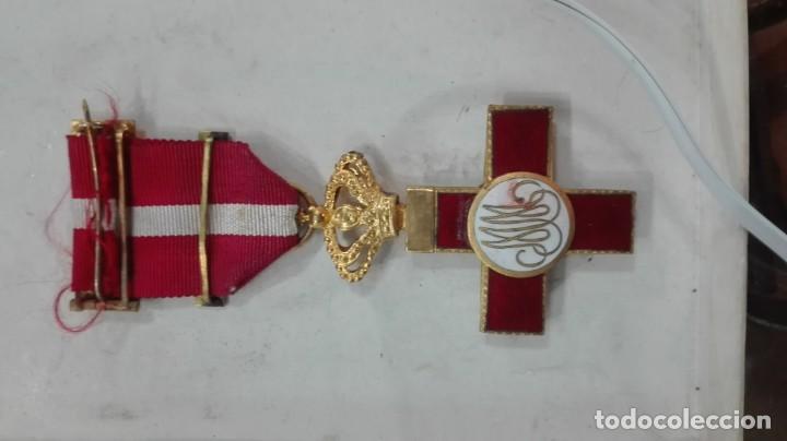 Militaria: Cruz al Mérito militar distintivo rojo - Foto 3 - 136256666