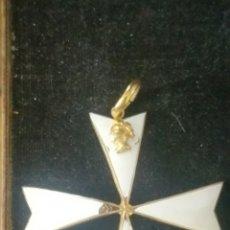 Militaria: ENCOMIENDA PROBABLEMENTE DE CABALLERO DE LA ORDEN DE MALTA. Lote 136542154