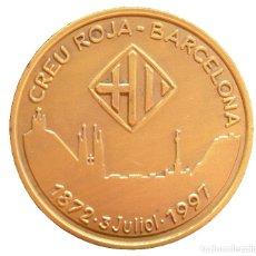 Militaria: MEDALLA DE LA CRUZ ROJA CREU ROJA BARCELONA 125 ANIVERSARIO 1872 1997. Lote 64599411
