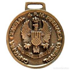 Militaria: MEDALLA CAPITANIA GENERAL CATALUÑA 4.R.M PIRENAICA ORIENTAL DIA DE LAS F.A.S 1987. Lote 65016251