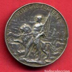 Militaria: MEDALLA O CONDECORACION, CONMEMORATIVA PALAFOX 1808 , PLATA , ANTIGUA ,ORIGINAL ,B23. Lote 137519474