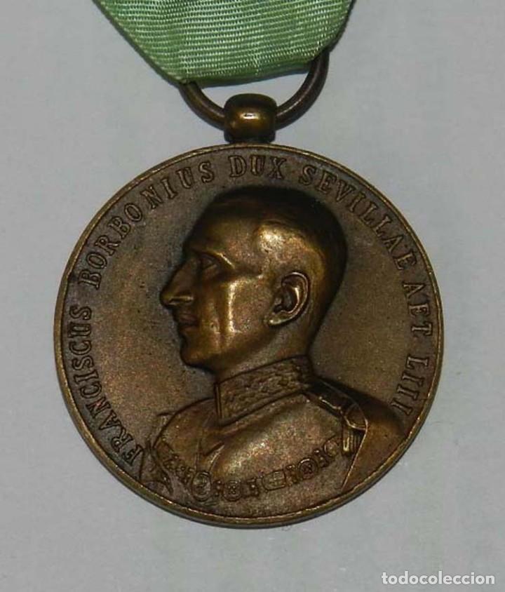 Militaria: Medalla Orden Militar y Hospitalaria de San Lázaro de Jerusalén, año 1935, Republica, Francisco de B - Foto 2 - 137965658