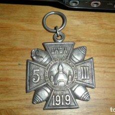 Militaria: INSIGNIA POLACA --LIWOW AÑO 1919. Lote 138610746