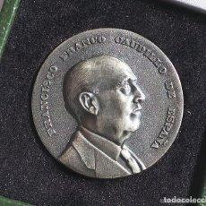 Militaria: MEDALLA, EN PLATA, FUNDACIÓN NACIONAL FRANCISCO FRANCO - PRIMER ANIVERSARIO MUERTE DEL GENERAL -1976. Lote 138621086