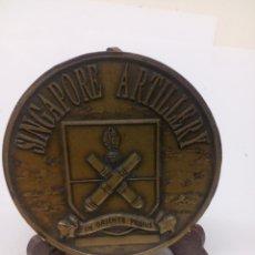 Militaria - Medalla Bronce Singapure Artillery - 138765970