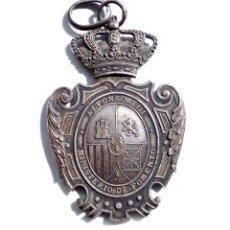 Militaria: MEDALLA PLATA MAGISTERIO PRIMERA ENSEÑANZA - ALFONSO XIII - MINISTERIO DE FOMENTO. Lote 138778194