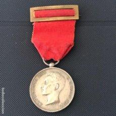 Militaria: MEDALLA DE ALFONSO XIII. D.G. HISP. REX. 17-5- 1902. CATEGORÍA PLATA. MAYORÍA DE EDAD.. Lote 138846666