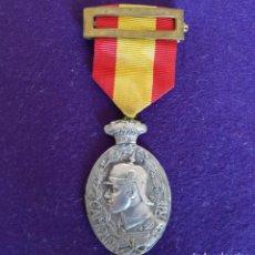 Militaria: MEDALLA ORIGINAL CAMPAÑA DEL RIFF. ALFONSO XIII. 1910. CONDECORACION CATEGORIA PLATA. . Lote 138879198