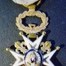 Militaria: CRUZ DE CABALLERO DE LA REAL ORDEN DE CARLOS III. PERIODO ISABELINO.. Lote 139186146
