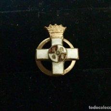 Militaria: FRANCO. MEDALLA MINIATURA CRUZ AL MÉRITO MILITAR DISTINTIVO BLANCO. PARA SOLAPA.. Lote 139298437
