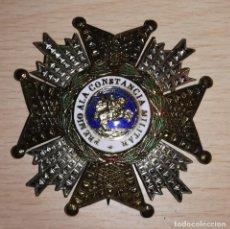 Militaria: CONDECORACION PLACA ORDEN DE SAN HERMENEGILDO, EPOCA FRANCO. Lote 139360038