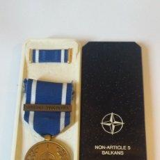 Militaria: MEDALLA OTAN FORMER YUGOSLAVIA. Lote 139383920