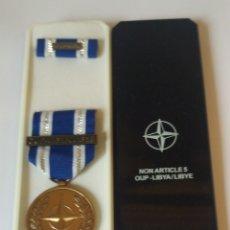 Militaria: MEDALLA OTAN OUP LIBYA LIBYE. Lote 139385457