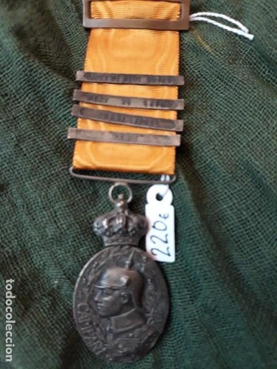MEDALLA DE OFICIAL CAMOAÑA DEL RÍF CON PASADORES (Militar - Medallas Españolas Originales )