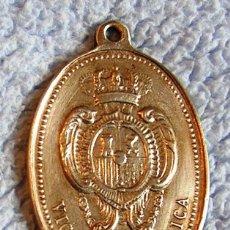 Militaria: MEDALLA PLACA VIGILANCIA PÚBLICA 1º ÉPOCA - ALFONSO XIII, 1º PLACA DE POLICÍA - 1887, CASA VICTORINO. Lote 152593800