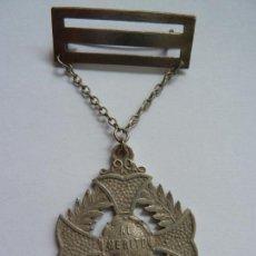 Militaria: MEDALLA CRUZ AL MÉRITO. Lote 139397486