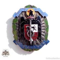 Militaria: PLACA INSPECTOR REGIONAL DIRECCIÓN GENERAL DE PRISIONES. Lote 139528170