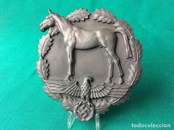 ENORME PLACA DE HIERRO FUNDIDO - ALEMANIA ÉPOCA DE TERCER RAICH (Militar - Medallas Extranjeras Originales)