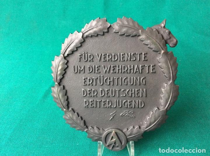 Militaria: Enorme placa de hierro fundido - Alemania época de tercer raich - Foto 2 - 139637982