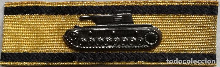 PARCHE INSIGNIA DESTRUCCIÓN DE TANQUE. CLASE ORO. ALEMANIA. III REICH. 1939-1945. II GUERRA MUNDIAL. (Militar - Reproducciones y Réplicas de Medallas )