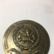 Militaria: MEDALLA 3º CENTENARIO (1689-1989), REGIMIENTO DE CABALLERÍA LIGERO ACORAZADO VILLAVICIOSA 14. Lote 140234029