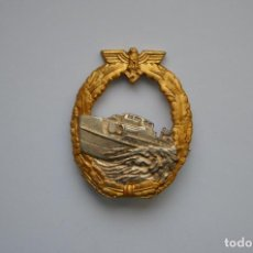 Militaria: WWII THE GERMAN BADGE KRIEGSMARINE E-BOAT. Lote 140258406