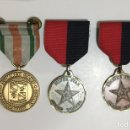 Militaria: MEDALLAS USA AWARD WINNERS SILVER, BRONZE AND LEADER SUMMER CAMP ARMY. 3 MEDALLAS CONDECORACIONES. Lote 139645984