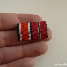 Militaria: ANTIGUO PASADOR DE MEDALLAS ALEMAN, SEGURAMENTE DE UN DIVISION AZUL. Lote 140431202