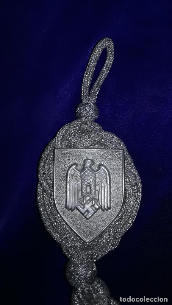 Militaria: CORDON DE TIRADOR LANYARDS ALEMAN 3º GRADO, EPOCA III REICH - Foto 2 - 140558198