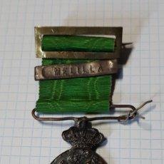 Militaria: MEDALLA MARRUECOS, CON PASADOR MELILLA. Lote 140741638