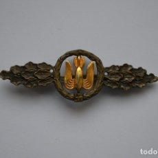 Militaria: WWII THE GERMAN LUFTWAFFE BOMBER CLASP - SQUADRON CLASP. Lote 140253630