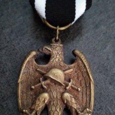 Militaria: INTERESANTE MEDALLA MILITAR ALEMANIA AGUILA 1934 HEIMWEHR PARAMILITAR EN BRONCE. Lote 140831048