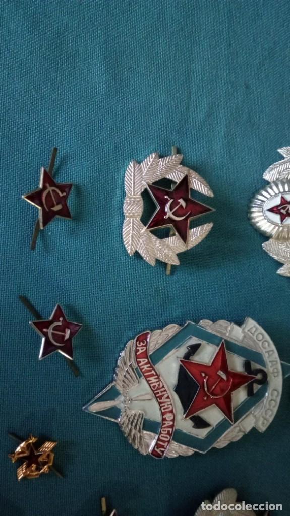 Militaria: Lote 10 insignias CCCP / Lote insiginias Urss / Union Sovietica - Foto 3 - 140899710