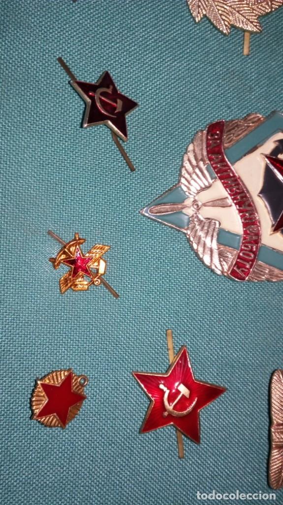 Militaria: Lote 10 insignias CCCP / Lote insiginias Urss / Union Sovietica - Foto 4 - 140899710