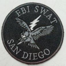 Militaria: PARCHE BORDADO FBI SWAT SAN DIEGO. Lote 156739016