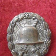 Militaria: MEDALLA ALEMANA DISTINTIVO DE HERIDO EN CATEGORÍA PLATA I II SEGUNDA GUERRA MUNDIAL III REICH ALEMÁN. Lote 141433258