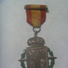 Militaria: RARISIMA MEDALLA DE NAVARRA : 19 JULIO 1936 - 19 JULIO 1961. HOMENAJE A COMBATIENTES NAVARROS ?. Lote 141710942